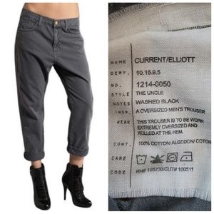 CURRENT/ELLIOT the uncle oversized chino pant